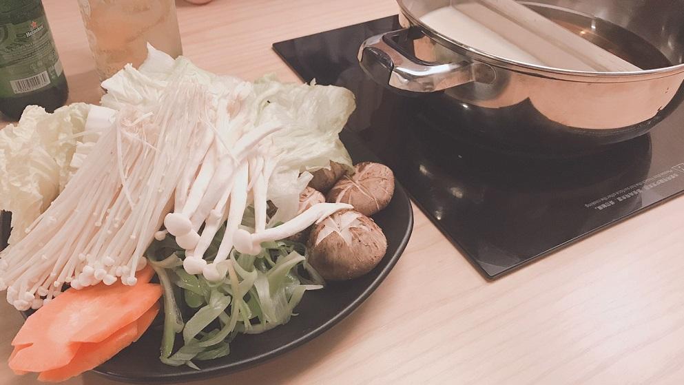 ホーチミンでしゃぶしゃぶ、温野菜のレタントン店で食事   潜入取材