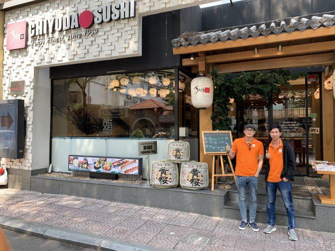 外国人が好きな日本食2020|海外・ホーチミン・ランチ|ちよだ鮨編