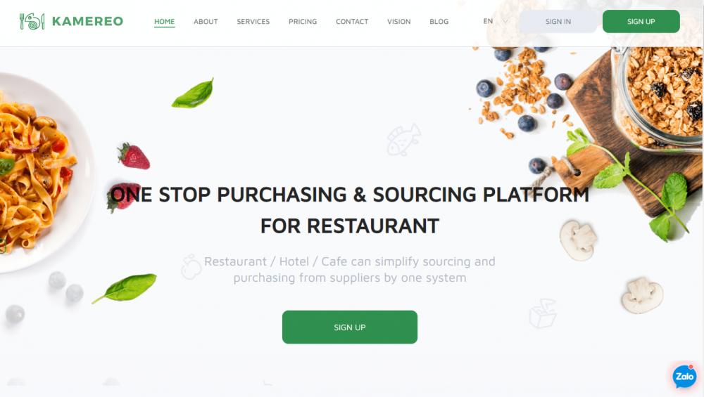 KAMEREOの新事業!飲食店にベトナム、ダラットの野菜を直接お届け!