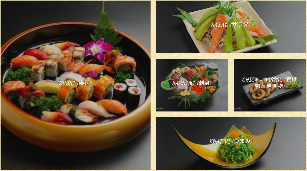 ハノイ 和食、寿司