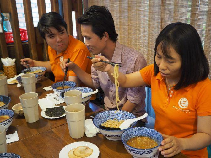 外国人が好きな日本食2020|海外・ホーチミン・ランチ|一燈編